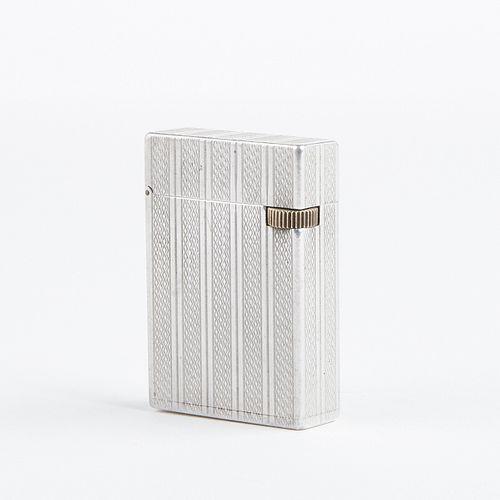 S.T. Dupont 1940s Aluminum Lighter - War Era