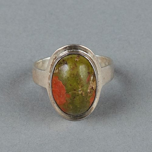 Carence Crafters Chicago Arts & Crafts Sterling Silver Ring