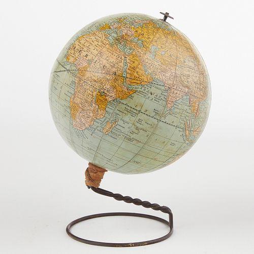 Rand McNally's 1892 1st Marketed School Earth Globe