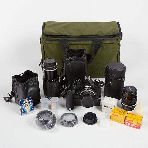 Nikon FM3a Body w/ Accessories
