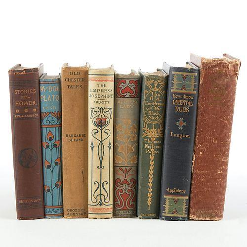 Grp: Arts & Crafts Book w/ Bindings