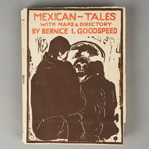 """Bernice I. Goodspeed """"Mexican-Tales w/ Maps & Directory"""" Personalized Note"""