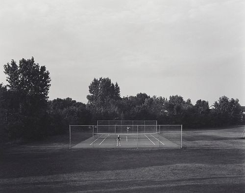"Frank Gohlke ""Tennis Court St. Paul"" Photograph"