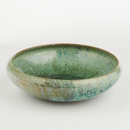 Early Shearwater Pottery Crystalline Glazed Bowl
