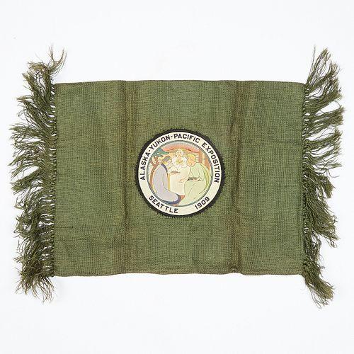 Alaska Yukon Pacific Exposition Seattle 1909 Textile