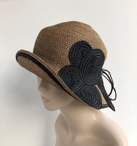 Circle Cloche, with goose biot feathers