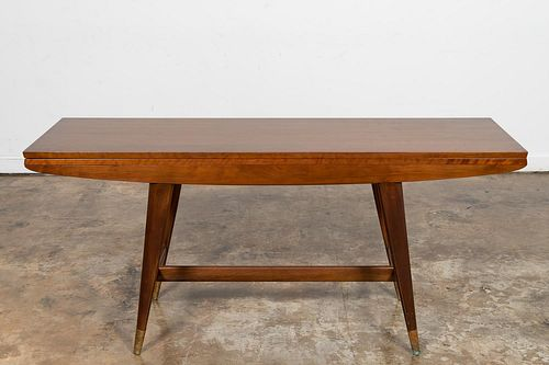 GIO PONTI FLIP TOP CONSOLE TABLE, MODEL 2134