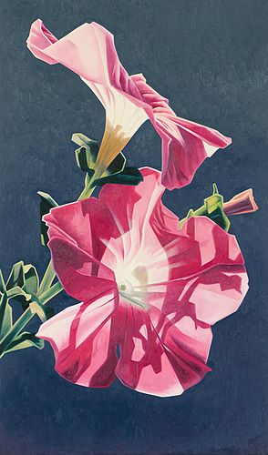 Ed Mell Two Petunias