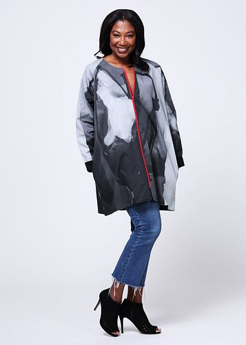 Twill Jacket Raglan Large/XLarge