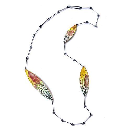 Three Petal Necklace - Seagrasses Design