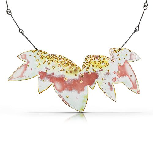 Small Petal Cluster Silhouette Necklace