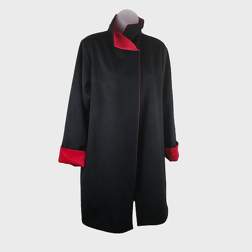 Cashmere/Camel Hair Reversible Jacket