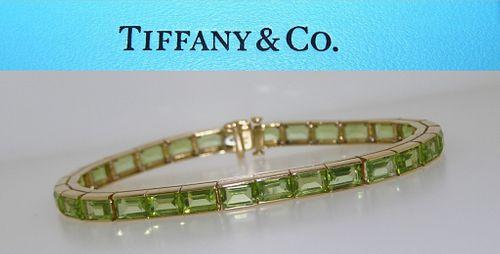 Vintage Tiffany & Co 18k Yellow Gold Bracelet