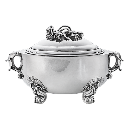 Large and Important Georg Jensen Tureen #299B