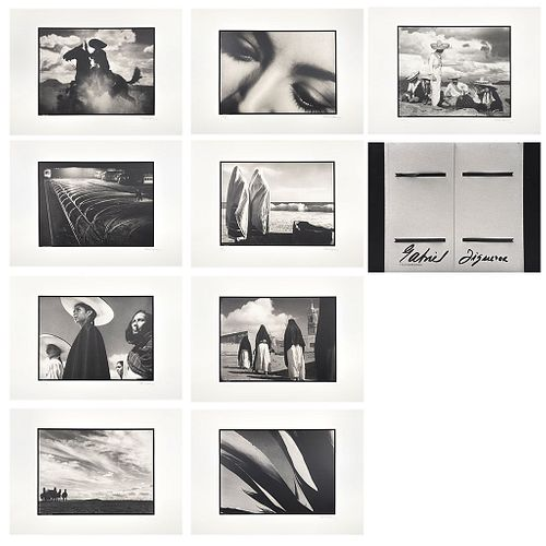 """GABRIEL FIGUEROA, Fotoserigrafías, Signed and dated 90 Photoserigraphs, 15.7 x 19.6"""" each USD $2,050-$3,630"""