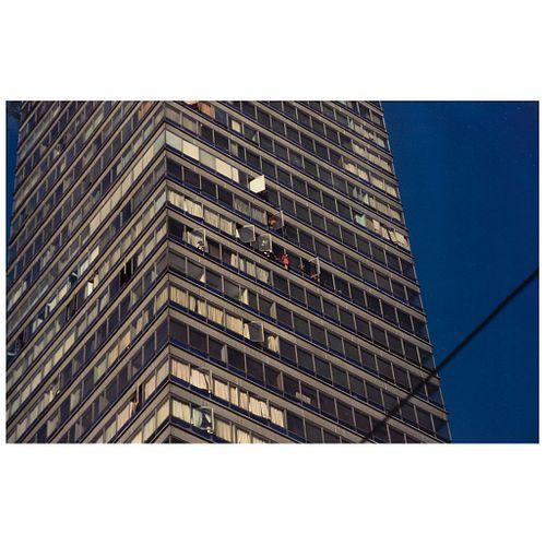 "ENRIQUE METINIDES, Tragedia 100, Ciudad de México, 2 de diciembre, 1993, Unsigned Digital print, 18.7 x 29.3"" USD $1,910-$2,270"