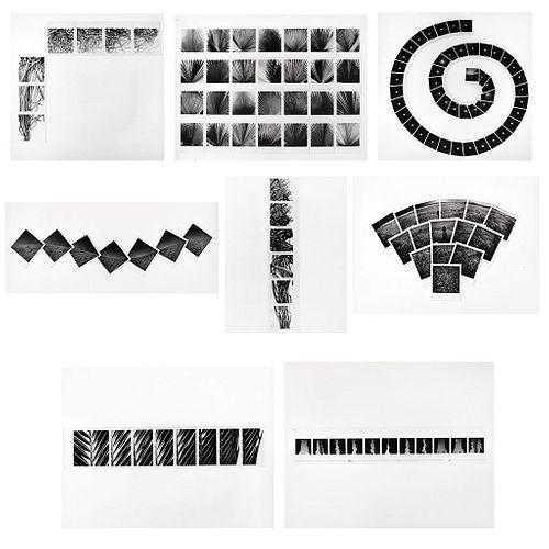 "JAN HENDRIX, Exposición fotográfica ""Reconstrucciones"", Unsigned Polaroid on photograph paper, 7.9 x 8""each USD $1,540-$1,820"