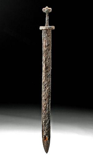 Mid-9th C. Viking Petersen Type Y Iron Broadsword