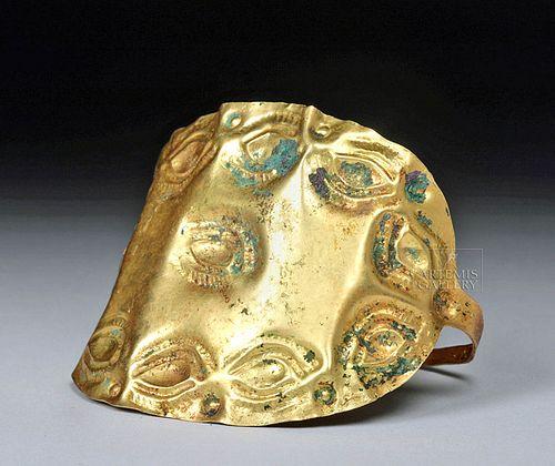 Iron Age / Hallstatt Gold Bracelet w/ Apotropaic Eyes