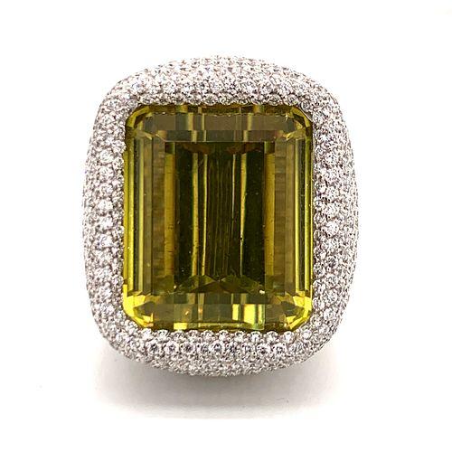 PALMIERO Diamond Beryl RingÊ