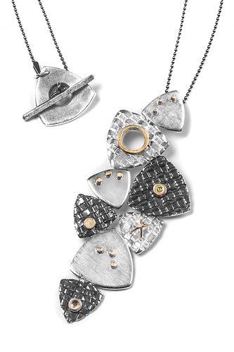 Woven Trillion Necklace