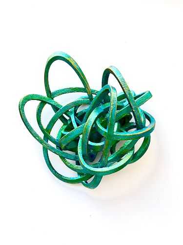 Rubber Band Brooch