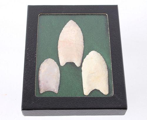 Paleo Fluted Clovis Points 15,000 - 10,000 B.P.