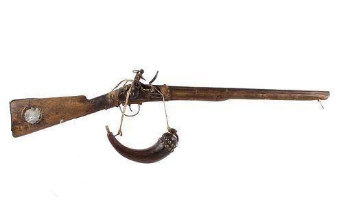 Northern Cheyenne Red Horse Flintlock Hudson Rifle