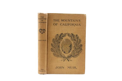 The Mountains of California by John Muir 1922