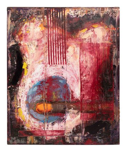 Aaron Fink (American, b. 1955) Guitar with Match, 1995