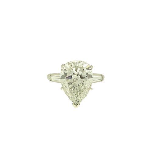 GIA 8.29ct Pear Shape Diamond G/SI2
