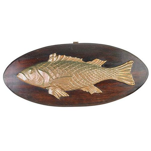 MOLDED COPPER FISH WEATHERVANE HALF