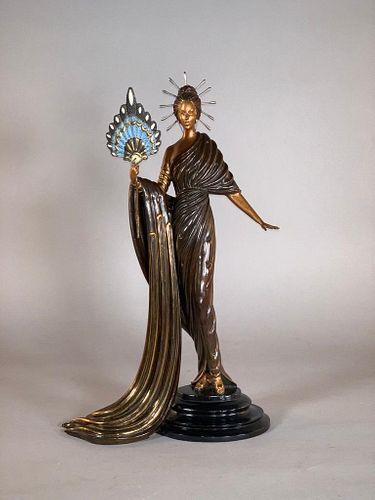 """Erte Bronze """" Aphrodite"""""""