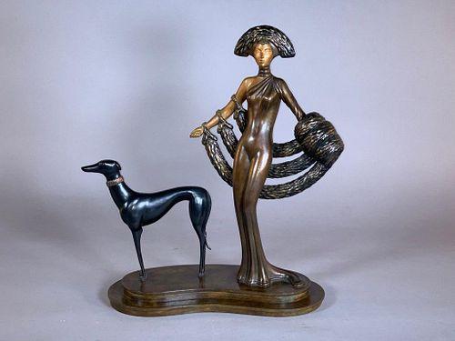 "Erte Bronze ""Elegance"""