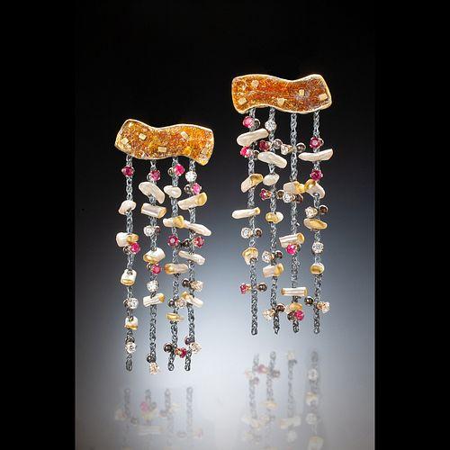 Mica Rain earrings