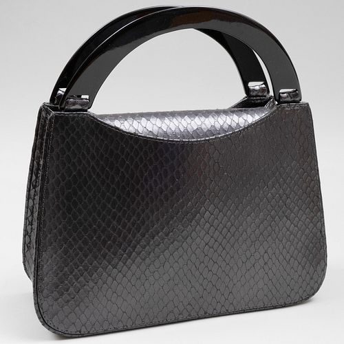 Yves Saint Laurent Textured Leather and Composite Handbag