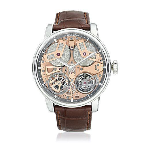 Arnold & Son Tourbillon Chronometer No. 36 in Steel