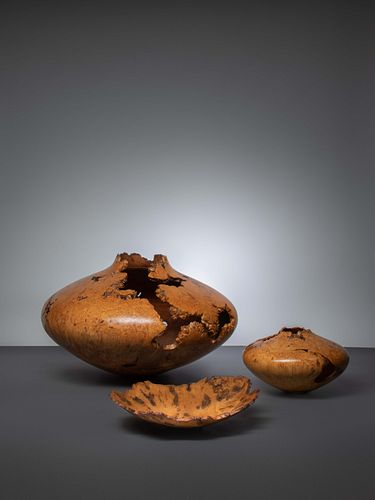 Jerry Wedekind (American, 20th Century) Three Vessels