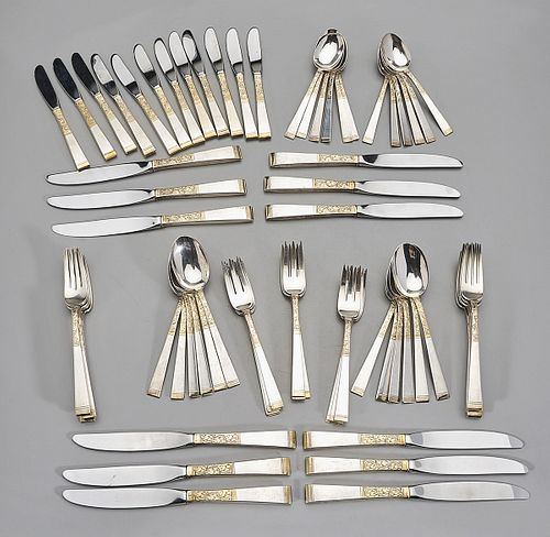 Sterling Flatware Set by Gorham
