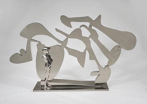 Abstract Sculpture by Ernest Trova