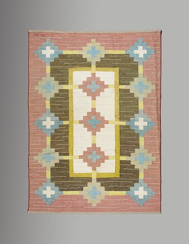 Anna Greta Sjoqvist, Attribution(Swedish, 1908-1993)Flatweave Rug