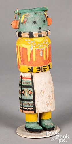 Hopi Indian carved and painted Kachina doll