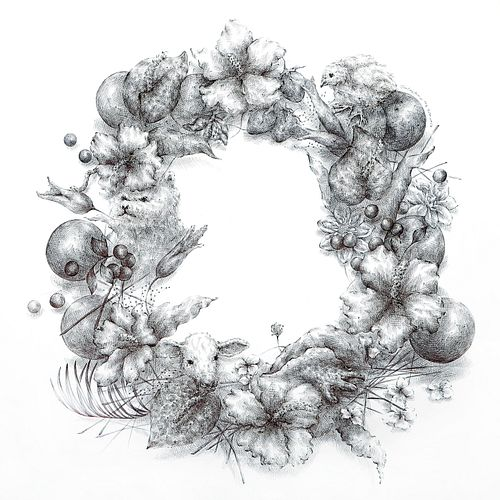 JOO LEE KANG, MFA 11 - Wreath #4