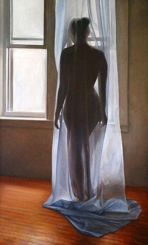SAFARANI SISTERS, MFA 16 - Blue Curtain