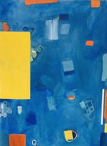 JUNI VAN DYKE, BFA 90, Diploma 90 - A View From Above I