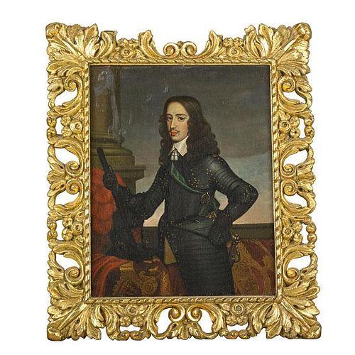 18TH C. PORTRAIT OF CHARLES II