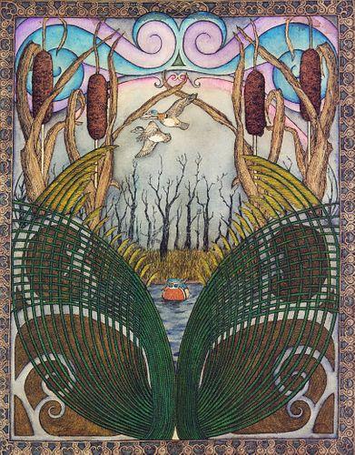 JOHN  LEHMAN, MFA 20 - The Lonely Wood Duck