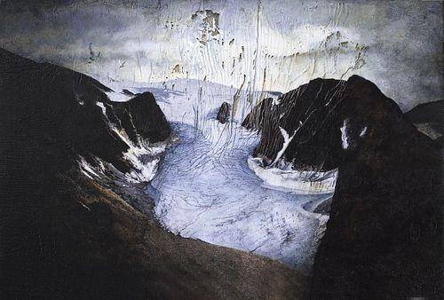 E. SPATZ-RABINOWITZ, MFA 74, Faculty- Starved Glacier