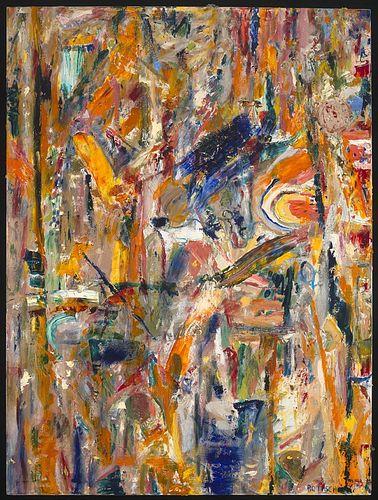 JO ANN ROTHSCHILD, MFA 80 - Orange Dance
