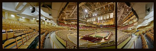 JIM DOW, former faculty - Boston Garden From The Celtics End. Boston, MA 1992